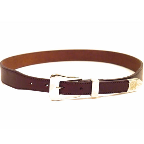 Twisted Western 3 Piece Belt.