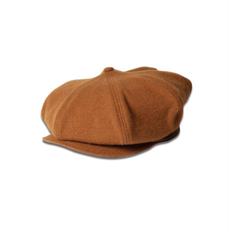 8 PANEL CASQUETTE -SHRINKED WOOL-