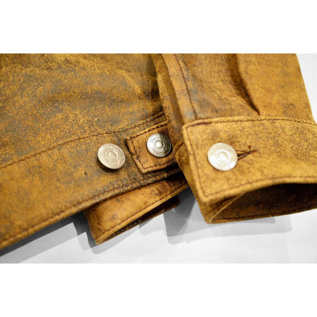 Western Work Jacket. -Sheep Leather-