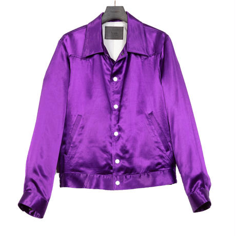WESTERN SPORTS JACKET -RAYON SATIN-