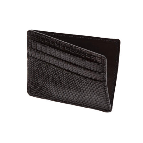 6 POCKET CARD CASE -LIZARD-