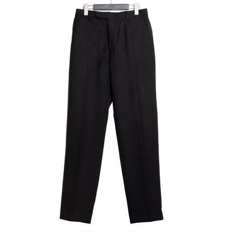 CLASSICAL REGULAR TROUSERS  -SERGE WOOL-