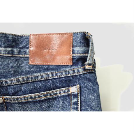 5 POCKET SLIM PANTS -USED WASHED DENIM-