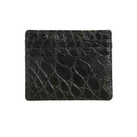 6 POCKET CARD CASE -CROCODILE-