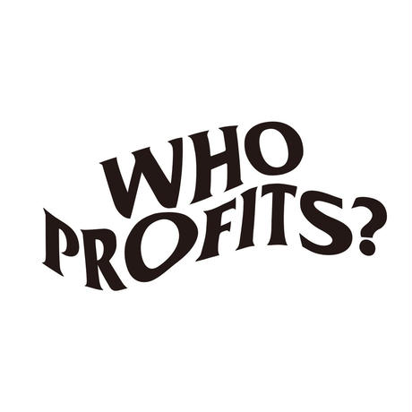 "12XU × THE M/ALL ""WHO PROFITS?"""