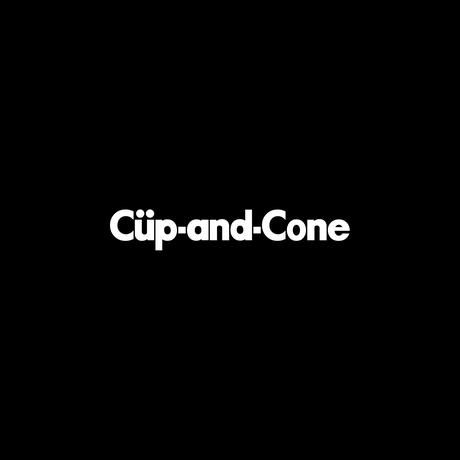 "CUP AND CONE × THE M/ALL ""Can't Find"""