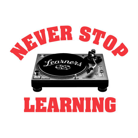 "LEARNERS × THE M/ALL ""NEVER STOP LEARNING"""