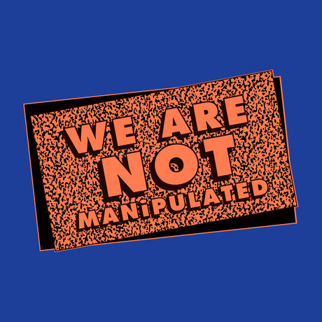 "ステレオテニス × THE M/ALL ""WE ARE NOT MANIPULATED"""