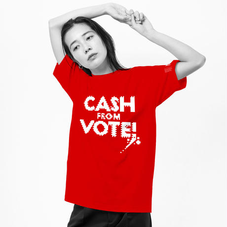 "ten_do_ten × THE M/ALL  ""CASH FROM VOTE"""