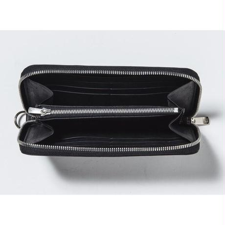 ZIP LONG WALLET (BLACK)
