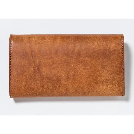 FLAP LONG WALLET (CAMEL)