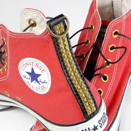 CUSTOM CONVERSE -ALL STAR- RED