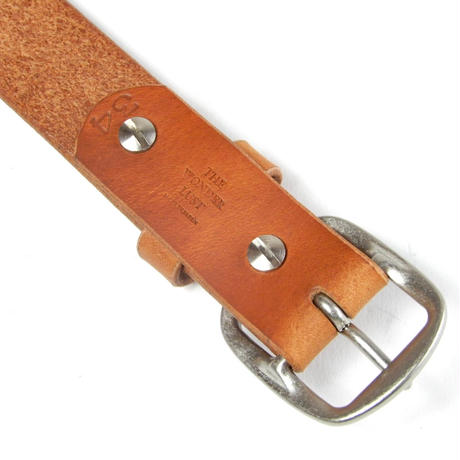 30mm PLAIN BELT (CAMEL)
