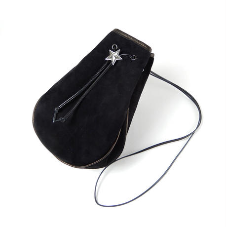 SUEDE STAR POUCH