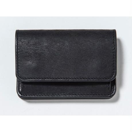COIN & CARD CASE (BLACK)