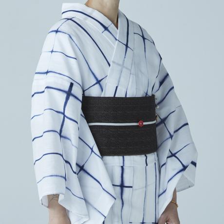 半巾帯 桐生 杢目