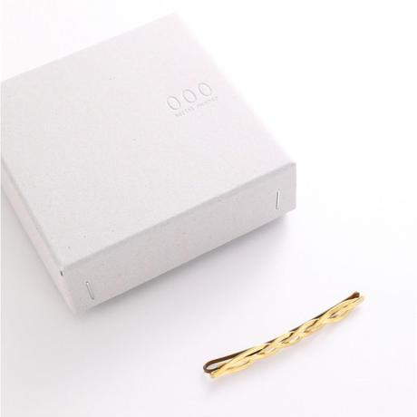 serial number000 ヘアピン -yui- 真鍮