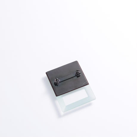 SIRISIRI  MIRROR Brooch RECTANGLE