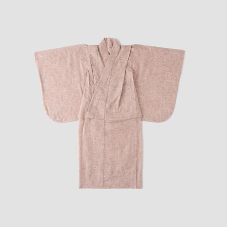 こどもゆかた 唐草ピンク  サイズ100~130㎝
