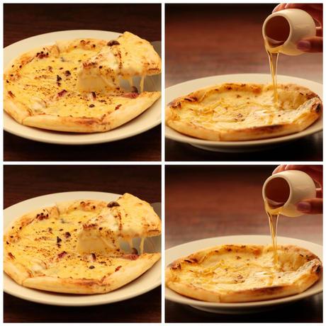 お得なゴルゴンゾーラピザ2枚・和風ピザ辛口2枚セット(送料込み5640円)【冷凍真空パック】