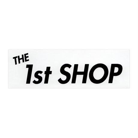 """THE 1st SHOP""ステッカー""WHITE"""