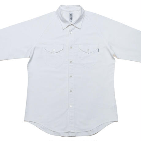 banGo CHAMBRAY RAGLAN SHIRTS / Made in Hawaii U.S.A.
