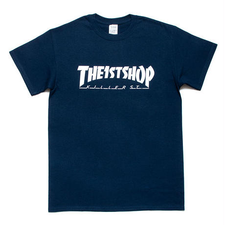 "THE 1st SHOP ""Killer St."" Tee (NAVY)"