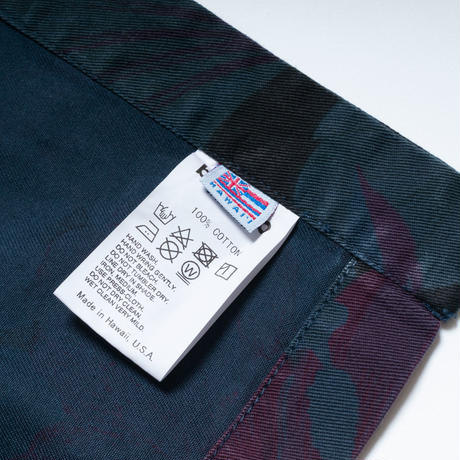 布哇産秋物衣料 / banGo Overdyed Happy / Made in Hawaii U.S.A.