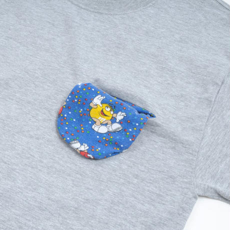 "THE 1st SHOP M&M ""Slash Pocket"" Tee"