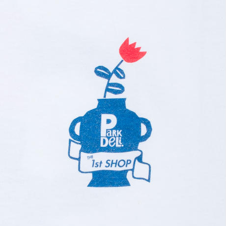 Park Deli. x THE 1st SHOP Tee 01