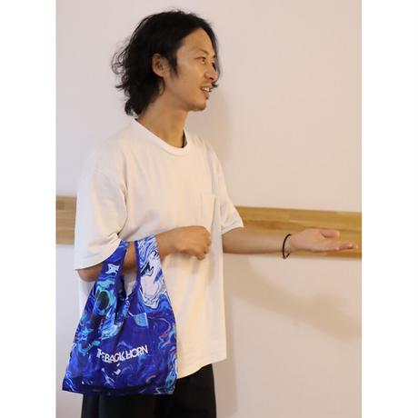瑠璃色のキャンバスエコバッグ(ミニサイズ)