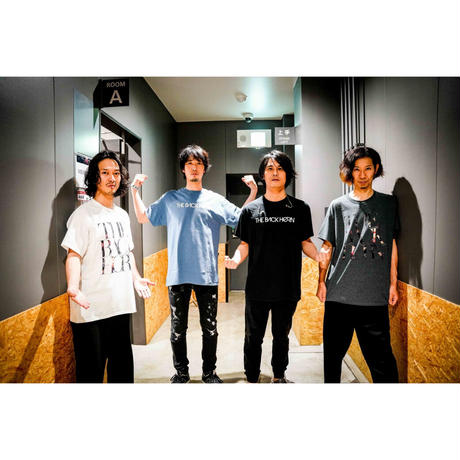 """KYO-MEI"" STRINGS TOUR Tシャツ【A】インディゴブルー"
