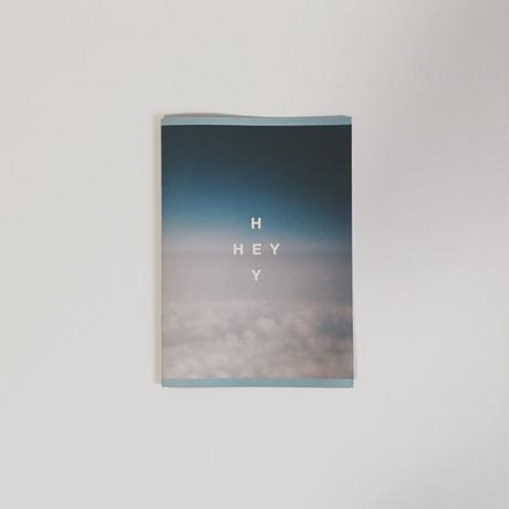 """HEY"" PHOTO ZINE + MP3"