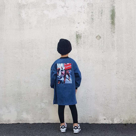 デニム風スェットジャケット☆kids