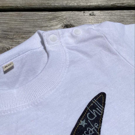 Kids fin denim Tee