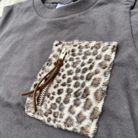 Leopard Kids  P-Tee by The Rollinfly