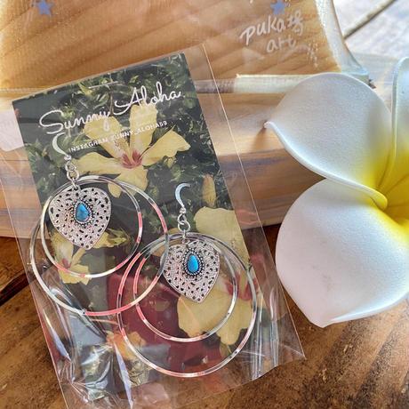 Natural stone pierce by Sunny Aloha