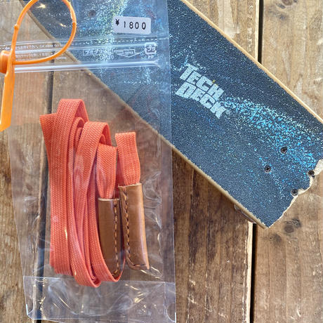 SK8シューレースベルト by RUS leather works