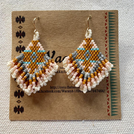 Native beads pierce(14kgf) by Wacana