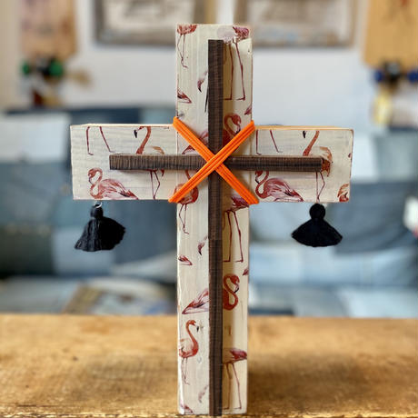 DECO wood cross by sea shoreinc.