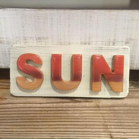 SUN ウッドプレート