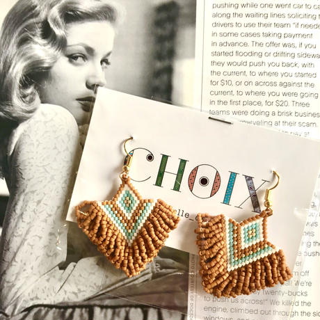 mini loop fringe pierce by choix