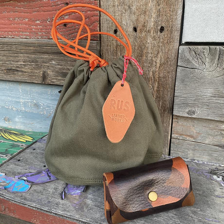 ANNIVERSARY HAPPY  BAG by RUS leather works