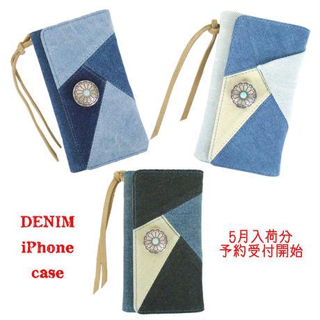 デニムiPhoneケース