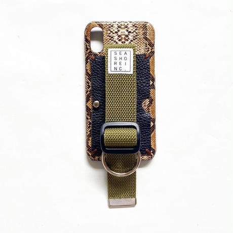 iPhone case (snake) by seashore inc.
