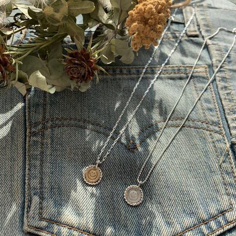 smile coin necklace