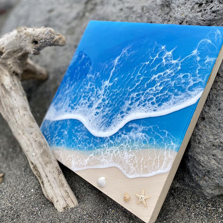 Resin art by Hawaii one surf