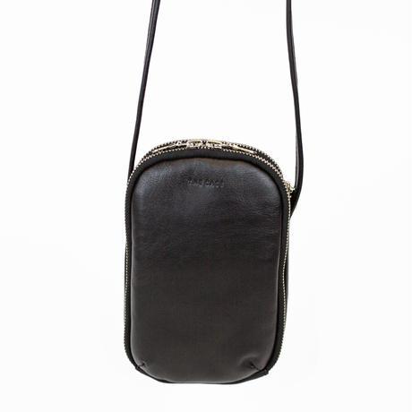 11月下旬予約【素材 : 牛革】初夏のお出かけが待ち遠しい♪ お財布・スマホ・鍵・コスメ、「ギュ」と収納、「サッ」と出す!時短お財布ショルダー slim wallet shoulder