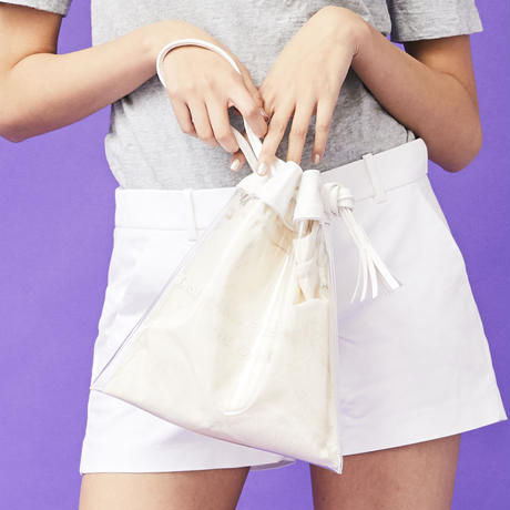 FRINGE CLEAR POUCH (VBOM-4858)