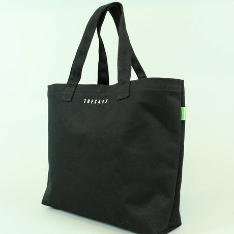 many pocket canvas shoulder tote wide(VBOM-5331)